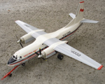 # antp087 An-24P Arctic 1967 Polar Aeroflot model