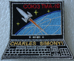 # spp080 Soyuz TMA-10 Charles Simonyi Computer patch - Click Image to Close