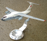 # ip081 AEROFLOT IL-76M cargo aircraft scale 1/144 - Click Image to Close