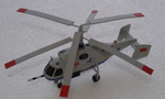 # hm094a Kamov-32 multirole helicopter 1/200