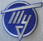 # avpatch100a Tupolev Design Bureau test pilot logo patch