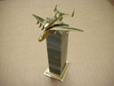 # antp150 AN-225 with Buran bronze-stone miniature model - Click Image to Close