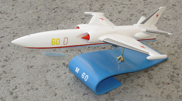 # zhopa058 M-60 nuclear powered hydroplane-bomber project