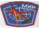 # aup170 Mir crew patch signed by cosmonaut Sharipov - Click Image to Close
