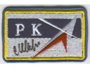 # aup171 PKA (RKA) patch signed by cosmonaut Sharipov