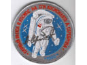 # aup126 Cosmonaut A.Serebrov autographed/notared personal patch