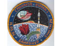 # aup135 Soyuz TM-24 back up patch signed by cosmonaut Manakov