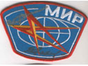 # aup140 Cosmonauts Lyakhov and Savinykh signed MIR patch