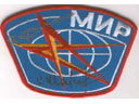 # aup141 Cosmonauts Sharipov and Savinykh signed MIR patch