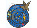 # vsi122 Cassiopee mission Russia-France autographed decal