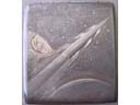 # un262 Vostok-1 old 1961 cigarette case
