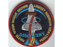 # fp083 STS-95 patch flown on ISS