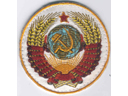 # fp080 Soyuz TM-3/MIR Crest patch of Alexandrov