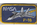 # fp091 F-18 NASA patch flown with S.Zaletin on ISS
