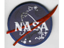 # fp090 NASA patch flown with cosmonaut Zaletin on IS