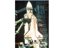 # cp120 Energia-Buran 5 photos signed/notared by cosmonaut Manakov