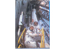 # cb091 21 Cosmonauts signed book from library of Yuri Glazkov - Click Image to Close
