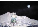 # spa701a V.Ruban Lunar Lander and Cosmonaut 3-D sculpture-model artwork