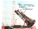 # iph502 N-1 rocket photos signed-notared by Alexei Leonov