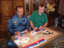 # ci308 With Soyuz TM-21/MIR-18 and ISS-3/Shuttle cosmonaut Vladimir Dezhurov
