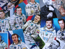 # ci300a Personalized-Addressed to Family Greeting Photos of Cosmonauts