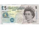 # fb311 English 5 Pounds bill