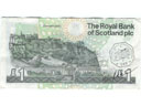 # fb312 Scotland One Pound bill flown on ISS