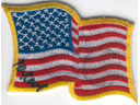 # ma302 USA flown flag patch