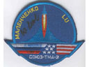 # ma302 Soyuz TMA-2 patch flown on Soyuz TMA-3/ISS/So