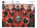# ma230 STS-106 crew signed print flown on ISS
