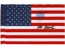 # ma341 United States of America desk size flag flown - Click Image to Close