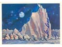 # ma610 A.Leonov art card A Lunar Peak