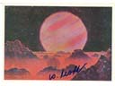 # ma615 A.Leonov artwork card On Jupiter`s Satellite