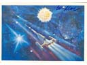 # ma616 A.Leonov artwork card Golden Cepheus