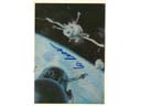 # ma623 A.Sokolov art work card Docking on Orbit