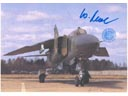 # ma375 Mig-23 multipurpose fighter aircraft card