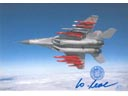 # ma376 Mig-29 fighter aircraft flown card