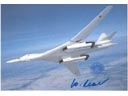 # ma381 Tu-160 supersonic strategic bomber card
