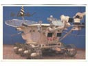 # ma354a Second Soviet Moon Rover Lunokhod-2 card