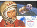 # kf102 Gagarin-Vostok card flown on Soyuz TMA-3/ISS-