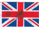 # kf104 UK flag flown on ISS and Soyuz TMA-3 - Click Image to Close