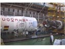 # gp926 Soyuz TMA ship and rocket carrier 2 flown pho