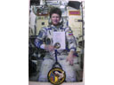 # gp201 Autographed Greeting photos and onboard Soyuz