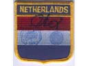 # gp501 The Netherlands flown flag patch