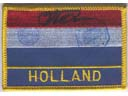 # gp503 Holland flag cancelled and signed by Kuipers-