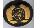 # avpatch176 Sukhoi logo visor hat badge - Click Image to Close