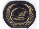 # avpatch256 New Russian airline `Orient` pilot visor hat patch