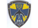 # avpatch107 383 Ukraine AF regiment pilot patch
