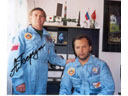 # ic500 With cosmonaut A.Berezovoy, a big friend of family.