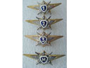 # aw150 Russian Air Force Naval pilot wings - Click Image to Close